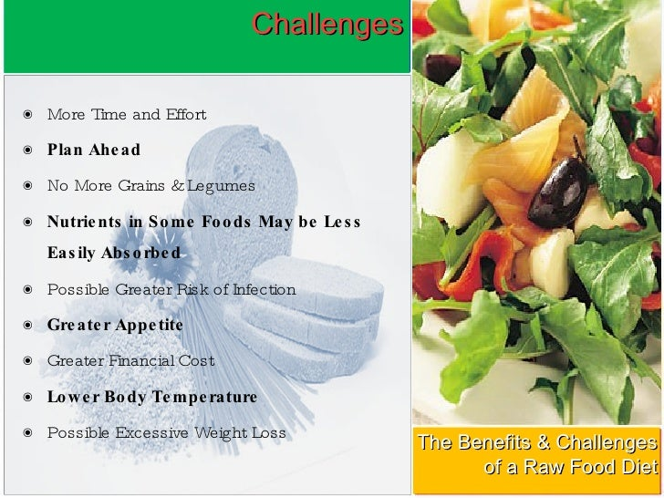 The benefits and challenges of a raw food diet raw food diet 6 forumfinder Image collections