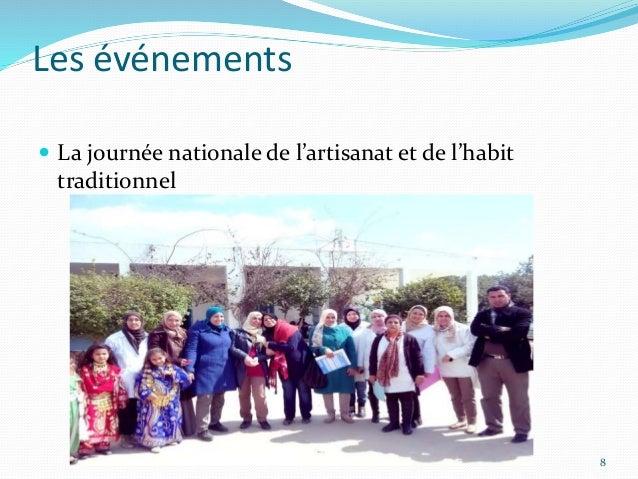 Les événements  La journée nationale de l'artisanat et de l'habit traditionnel 8