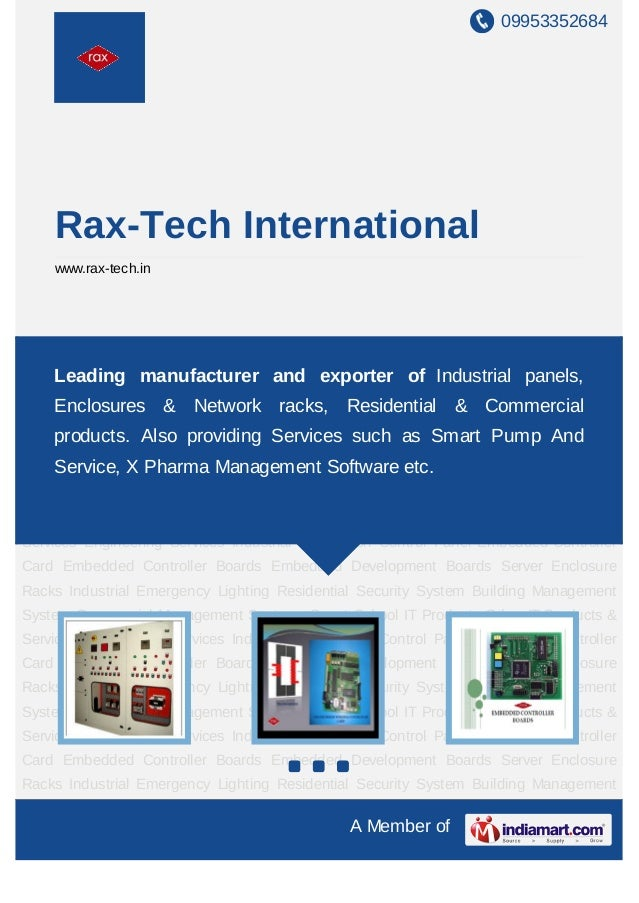 09953352684     Rax-Tech International     www.rax-tech.inIndustrial Automation Control Panel Embedded Controller Card Emb...
