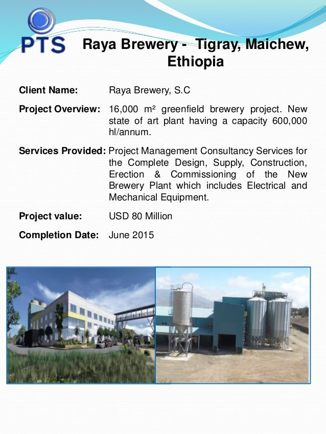 Raya Brewery Case Study and Project Reference