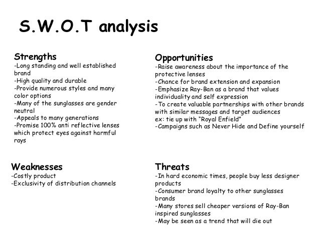 luxottica pestle Luxottica swot analysis profile additional information what is a swot analysis it is a way of evaluating the strengths, weaknesses, opportunities.
