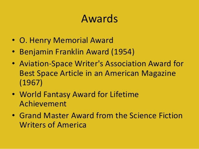 a description of ray bradbury as the living master of the science fiction genre Science fiction or science fact unit science fiction isaac asimov science ray bradbury introduce the science fiction genre by going over the.