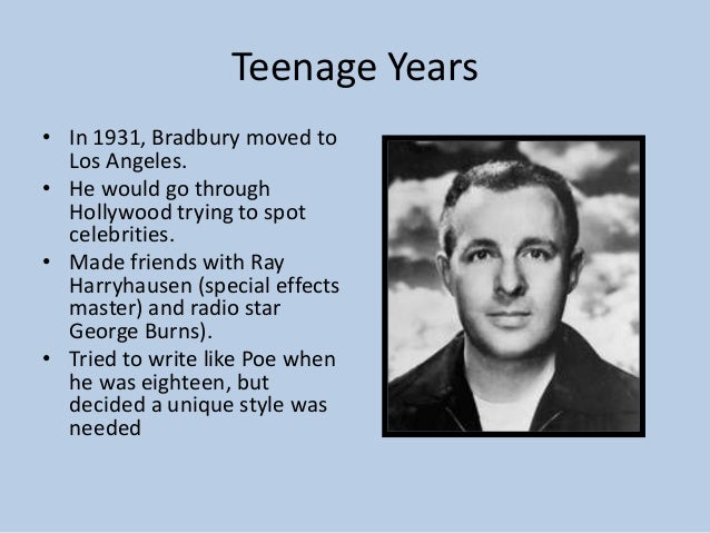 ray bradbury achievements