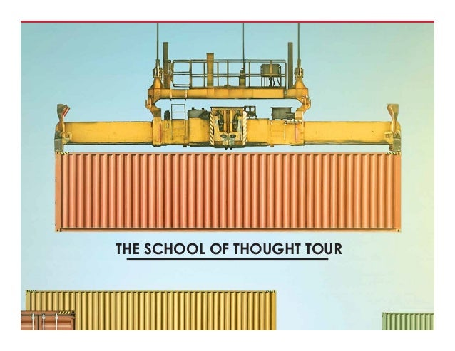 THE SCHOOL OF THOUGHT TOUR