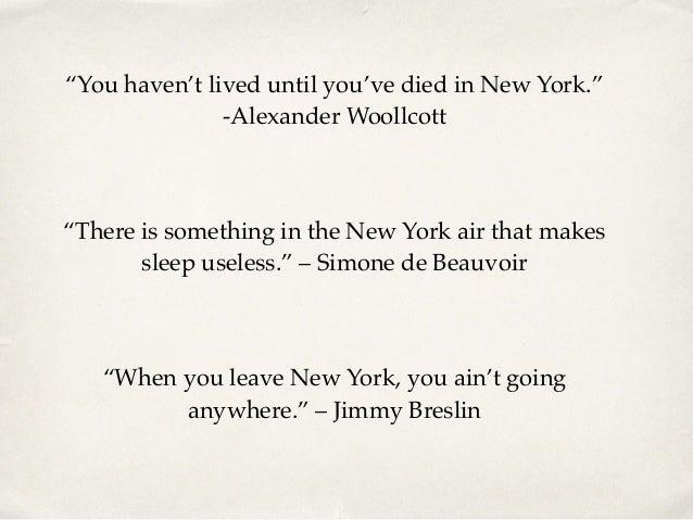 Ray Glattman NYC Quotes Simple Nyc Quotes