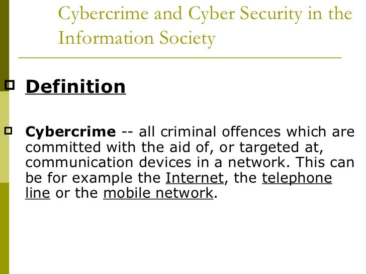 the definition and history of computer crimes Fascinated by this argument and the evolution of the classical justice  definition  on of the major polemics as regards cybercrime relates to its very definition  there  measures to combat computer-related crime of the eleventh united.