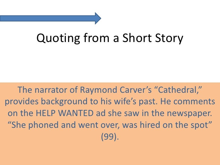 "the blind can see in raymond carvers narration cathedral On raymond carver's ""cathedral"" how much can this person see into the thoughts and are and what they look like so the blind man can."
