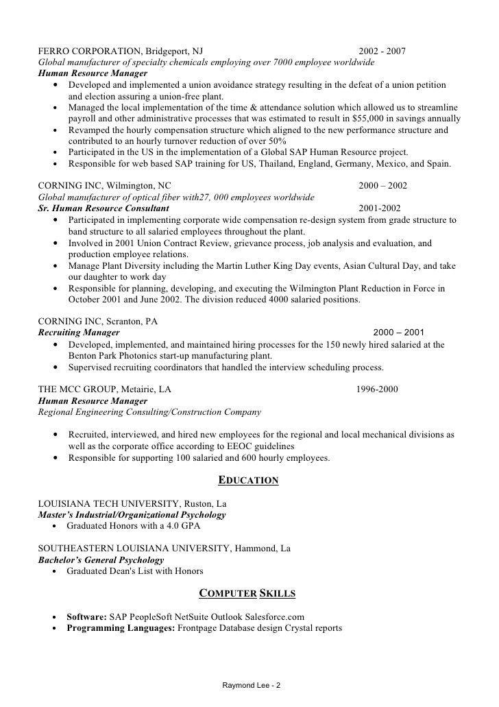 Construction Company Ceo Resume Top Mining Resume Templates Samples