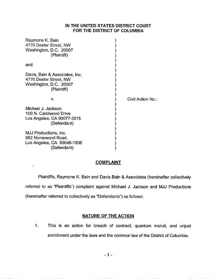 Raymone Bain Lawsuit1