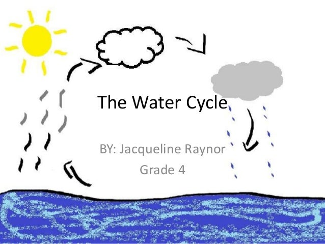 Raynor jacqueline water cycle the water cycle by jacqueline raynor grade 4 ccuart Image collections