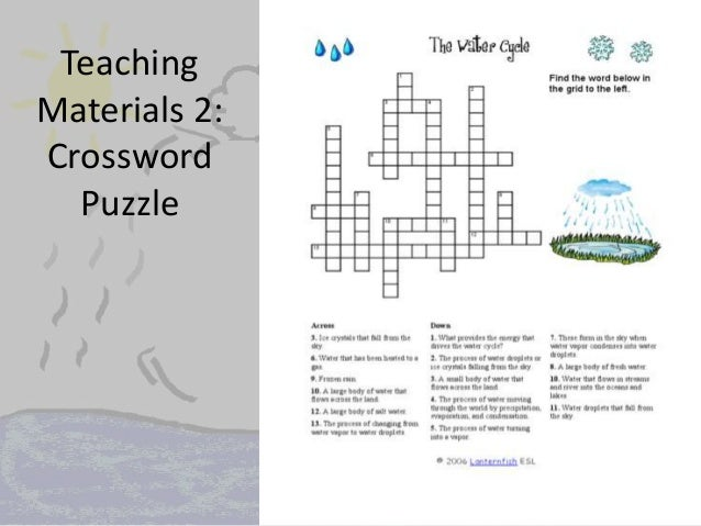 The Water Cycle Crossword Answers The free download water cycle – The Water Cycle Worksheet Answers