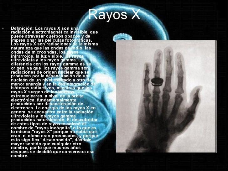 Rayos X Y Ultravioletas