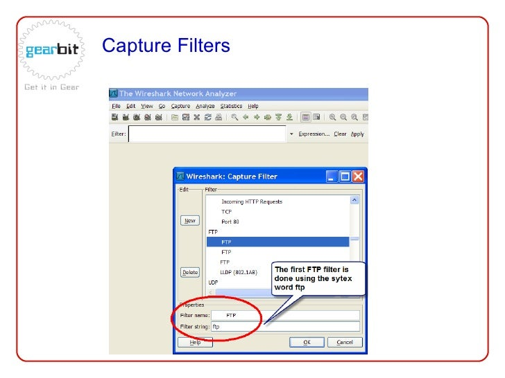 Ostu wireshark capture filters by ray tompkins - Wireshark filter destination port ...