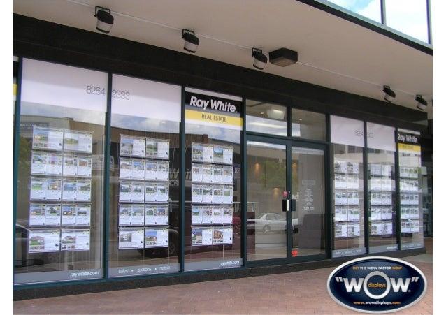 real estate | wow displays #realestatedisplays.sydney