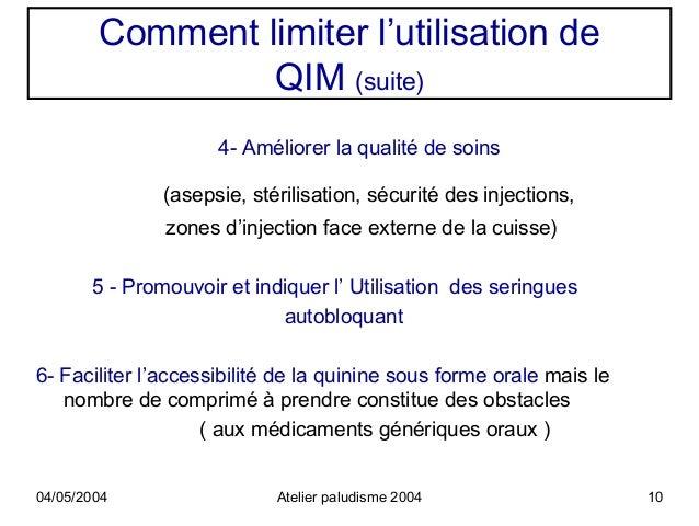Comment limiter l 39 utilisation de quinine intramusculaire - Comment utiliser des couches lavables ...