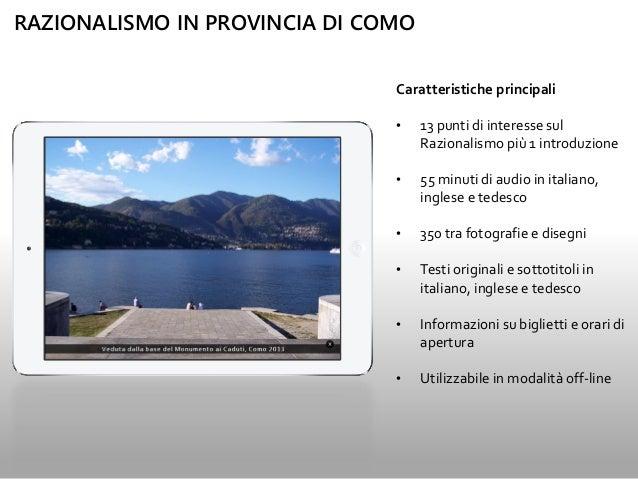 Razionalismo in Provincia di Como Slide 3