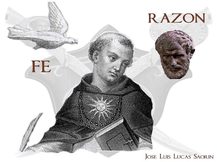 FE-RAZÓN              SIGLOS I-V 1- ÉPOCA DE LA PERSECUCIÓN. Siglo II. 2- ÉPOCA DE LA FORMACIÓN EN FILOSOFÍA: ALEJANDRÍA. ...