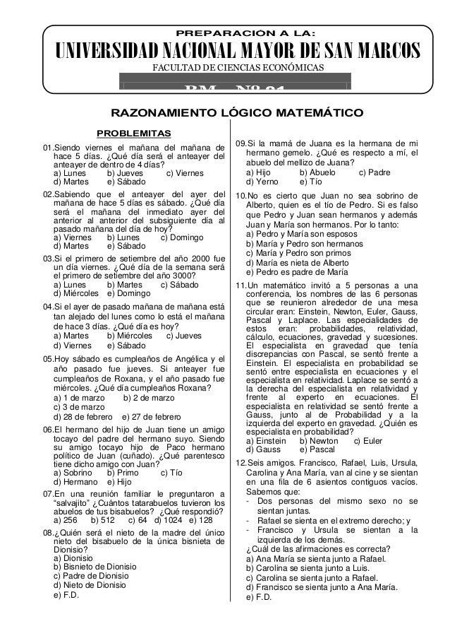 Razonamiento Matemático (2)