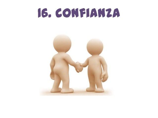 16. confianza