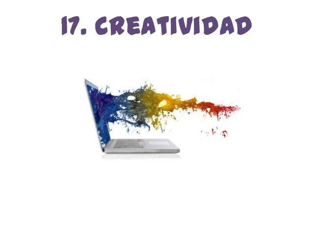 17. creatividad