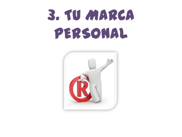 3. TU MARCA PERSONAL