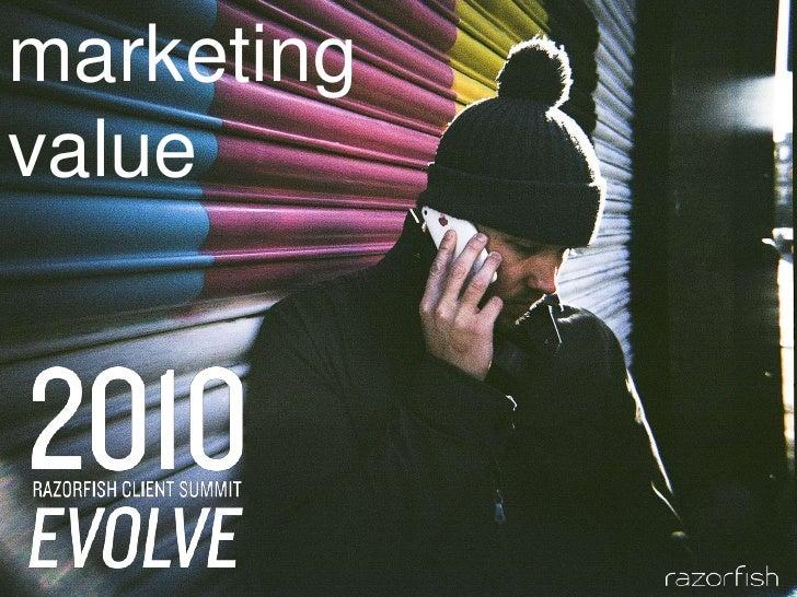 marketing<br />value<br />