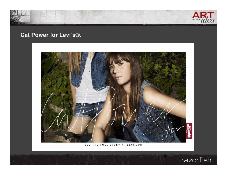 Cat Power for Levi's®.