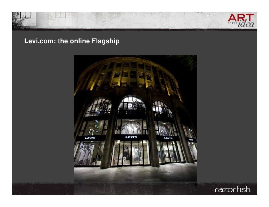 Levi.com: the online Flagship
