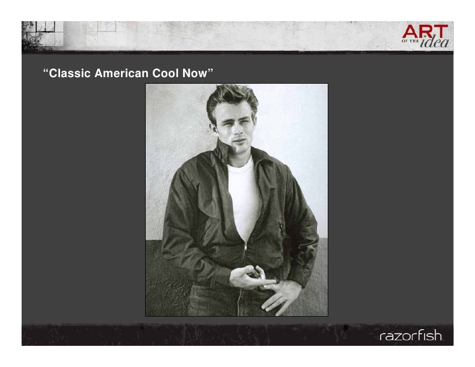 """""""Classic American Cool Now"""""""