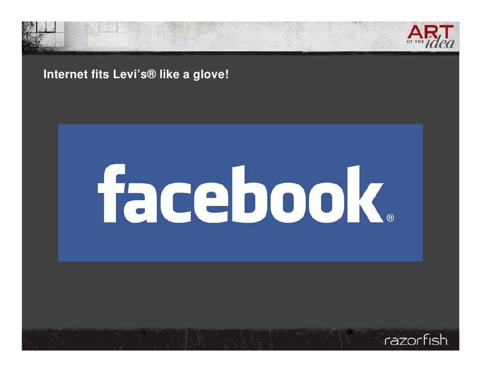 Internet fits Levi's® like a glove!