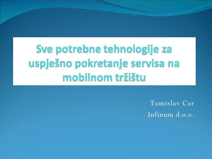 Tomislav Car Infinum d.o.o.