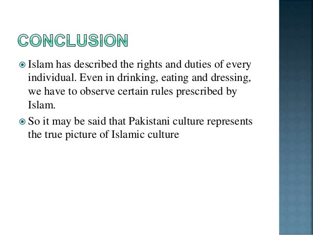 culture and cultural element of a Pakistani community