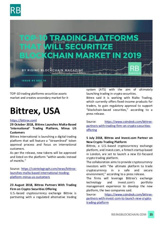 Rising Blockchain Magazine - Results of 2018