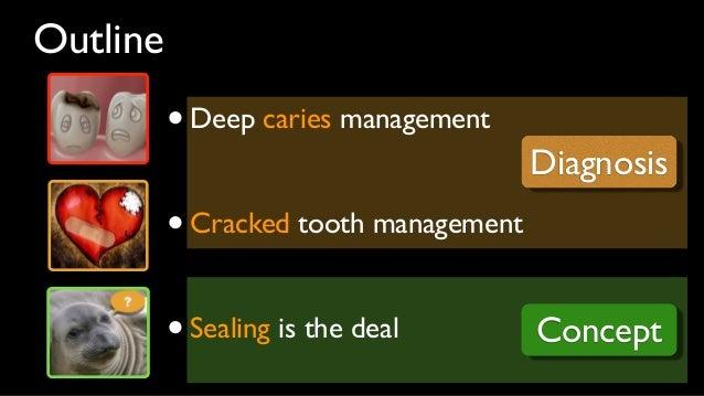 Deep  caries management
