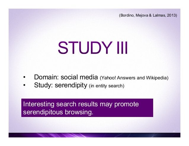Wikipedia 39 Yahoo! Answers An Engaging Click