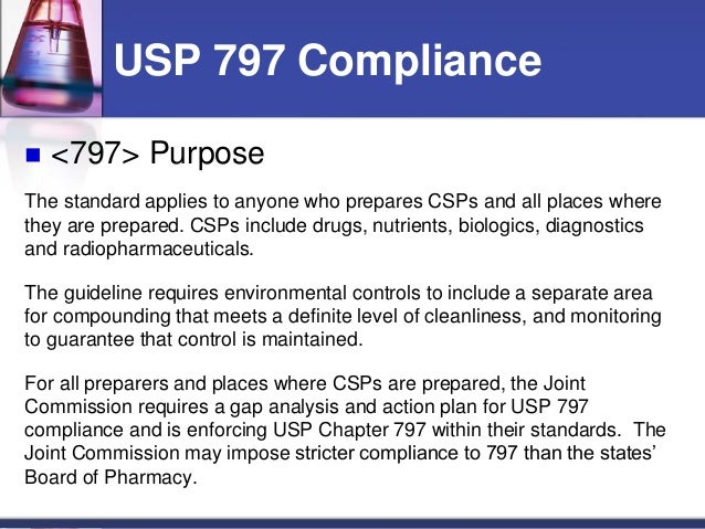 usp 797 guidelines beyond use dating Professional guidelines expiration and beyond-use dates: pharmacy regulations and should utilize the guidelines set forth by the united states pharmacopeia.