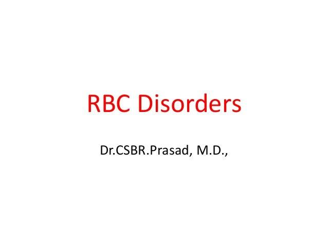 Rbc disorders-4