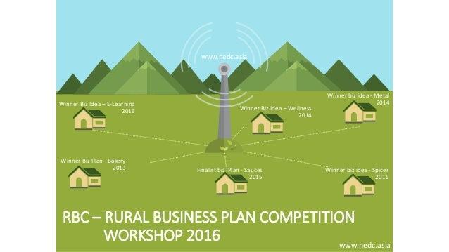 Rural business plan