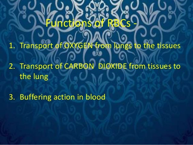 5. Blood group determination.  6. Help to maintain the viscosity of blood.