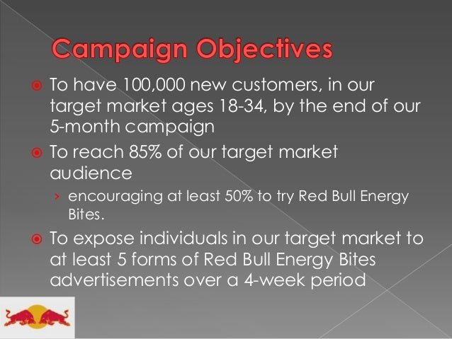 target market of red bull Give your marketing wings: lessons in marketing from red bull of who their target market is give your marketing wings: lessons in marketing from.