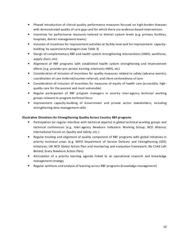thesis program evaluation