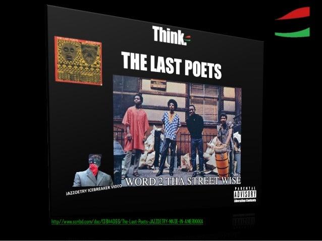 http://www.scribd.com/doc/138144066/The-Last-Poets-JAZZOETRY-MADE-IN-AMERIKKKA