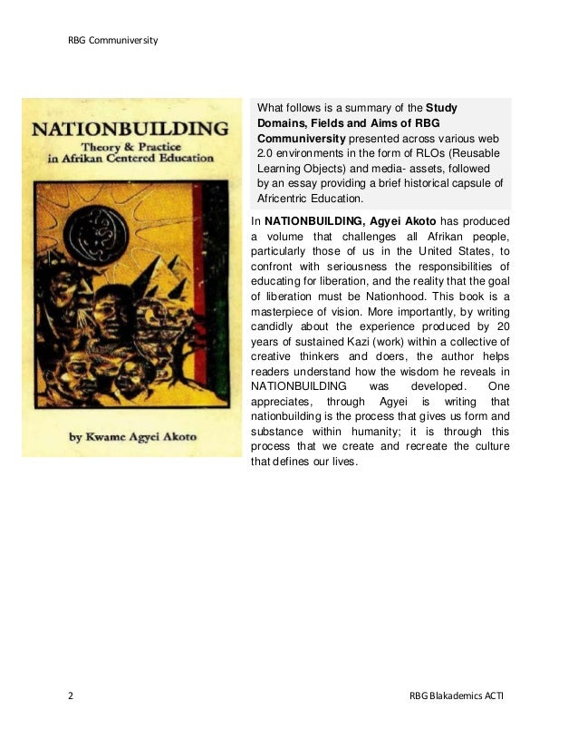 essay on role of mass media in nation building Media and peace building in the era of globalisation by: peace building introduction: the mass media have this definition emphasises the role of media in.