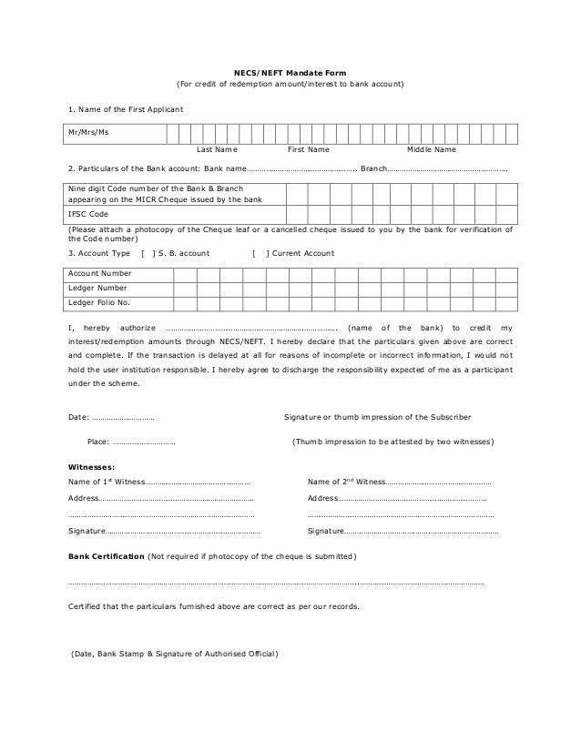 Form pdf neft sbbj