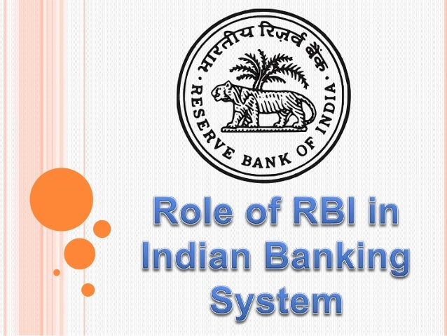 ROLE OF RBI IN BANKING SECTOR PDF DOWNLOAD