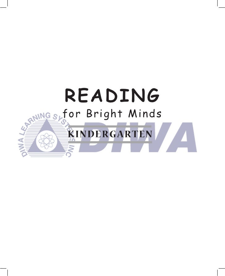 READINGfor Bright MindsK INDERG ART EN