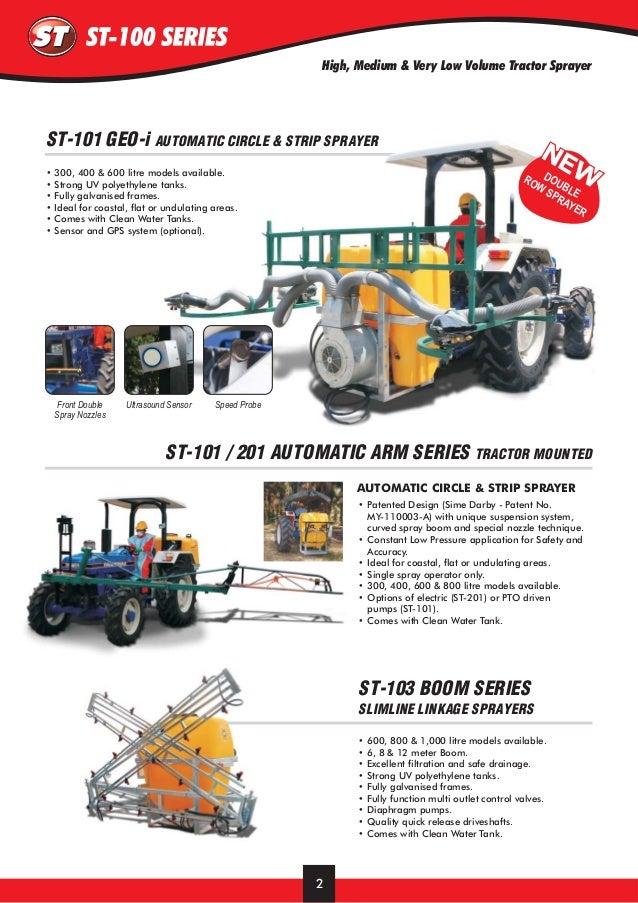 Tractor Sprayer Pump