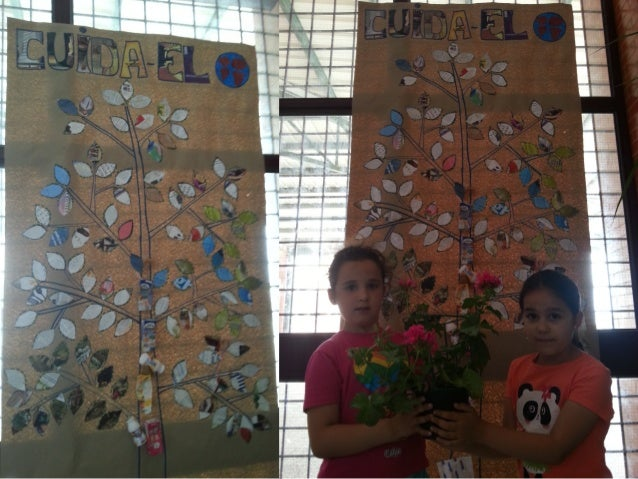 árbol de reciclaje