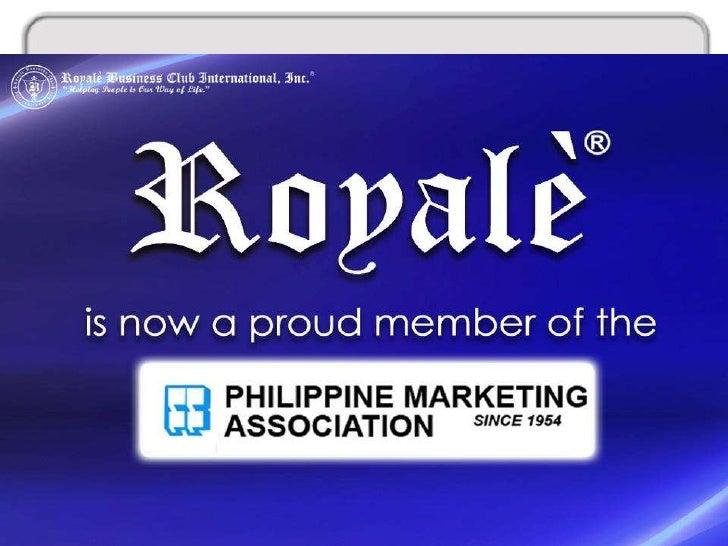 royale business presentation hyperplane