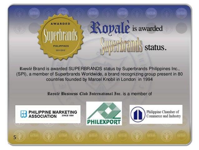 Royale business presentation pdf